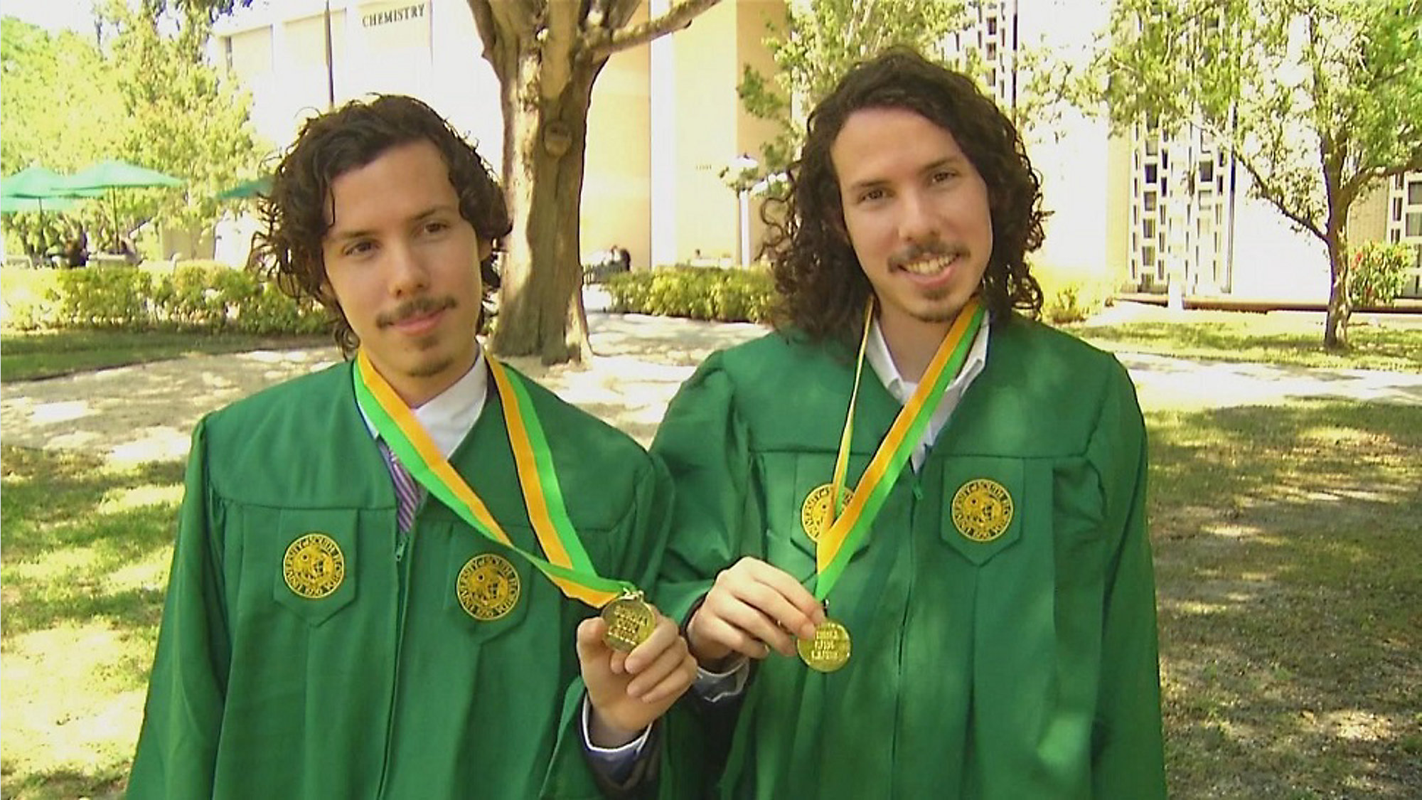 Twin brothers graduate from USF in biomedical science