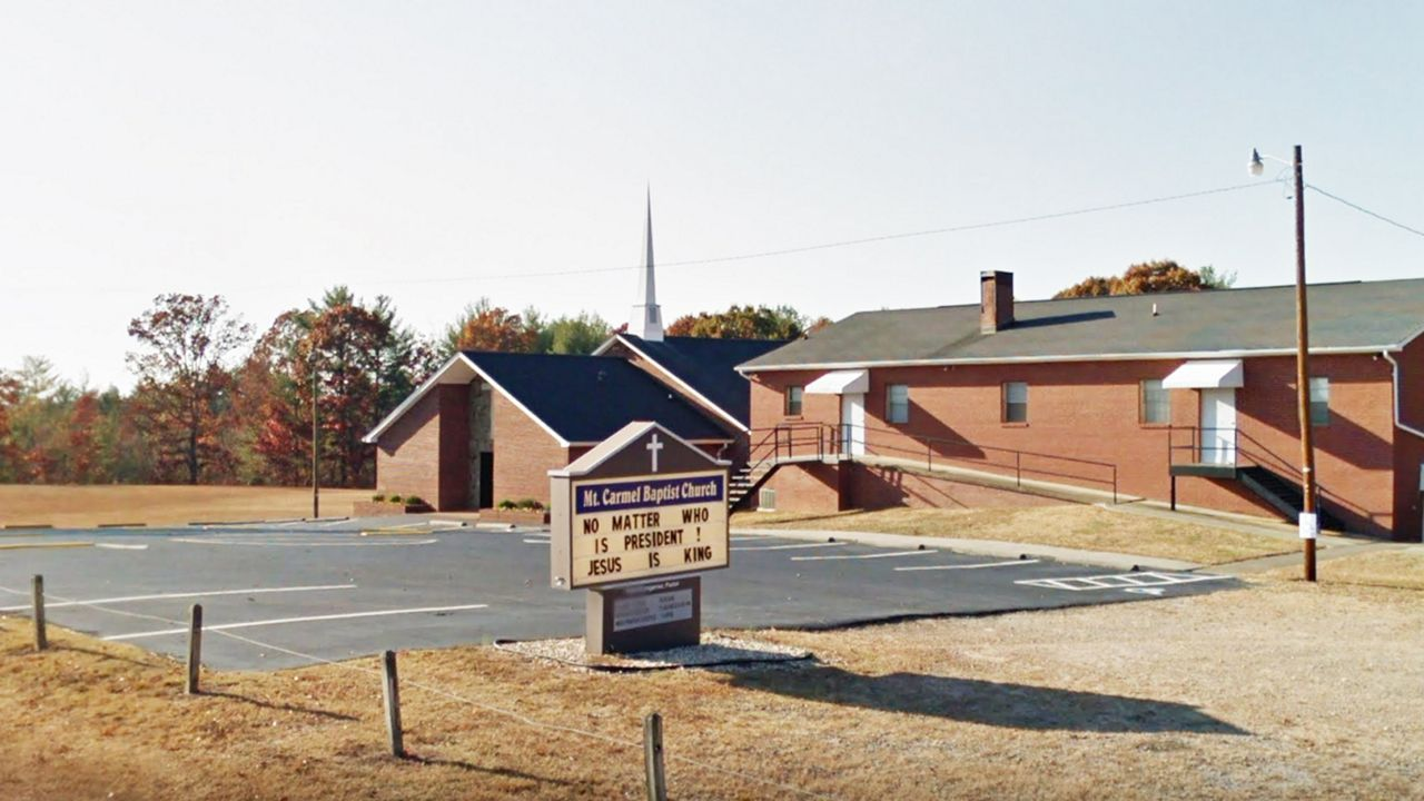 Man Steals Musical Equipment from Church in Caldwell County