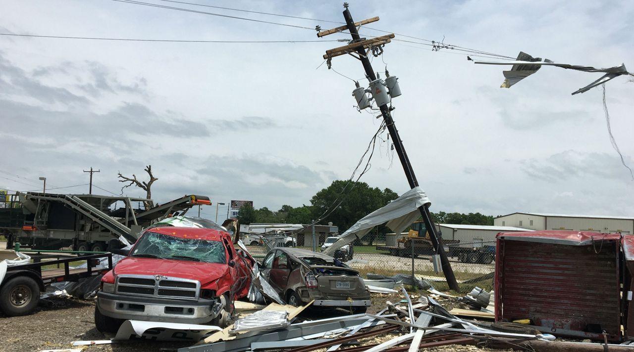 3 Tornadoes Confirmed in Fayette County