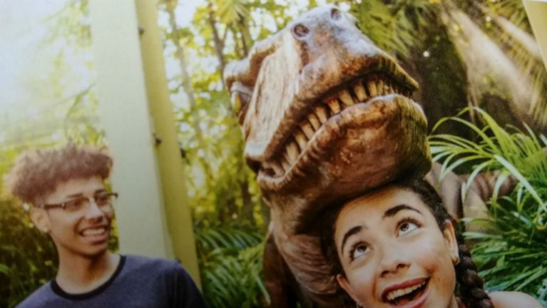 A new raptor will debut this summer inside the Raptor Encounter at Universal's Islands of Adventure. (Universal)