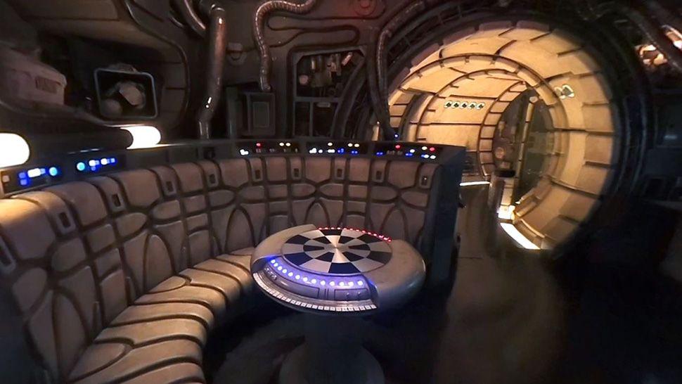 360 VIDEO: Sneak Peek Inside Millennium Falcon: Smugglers Run
