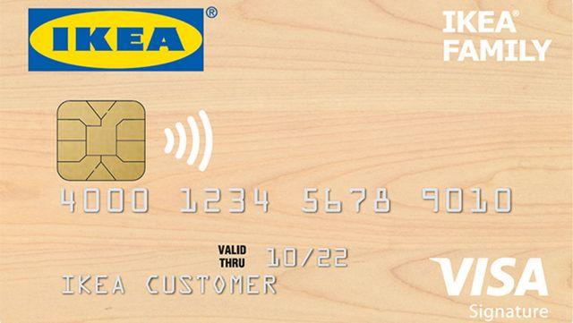 ikea debuts new credit card with reward program. Black Bedroom Furniture Sets. Home Design Ideas