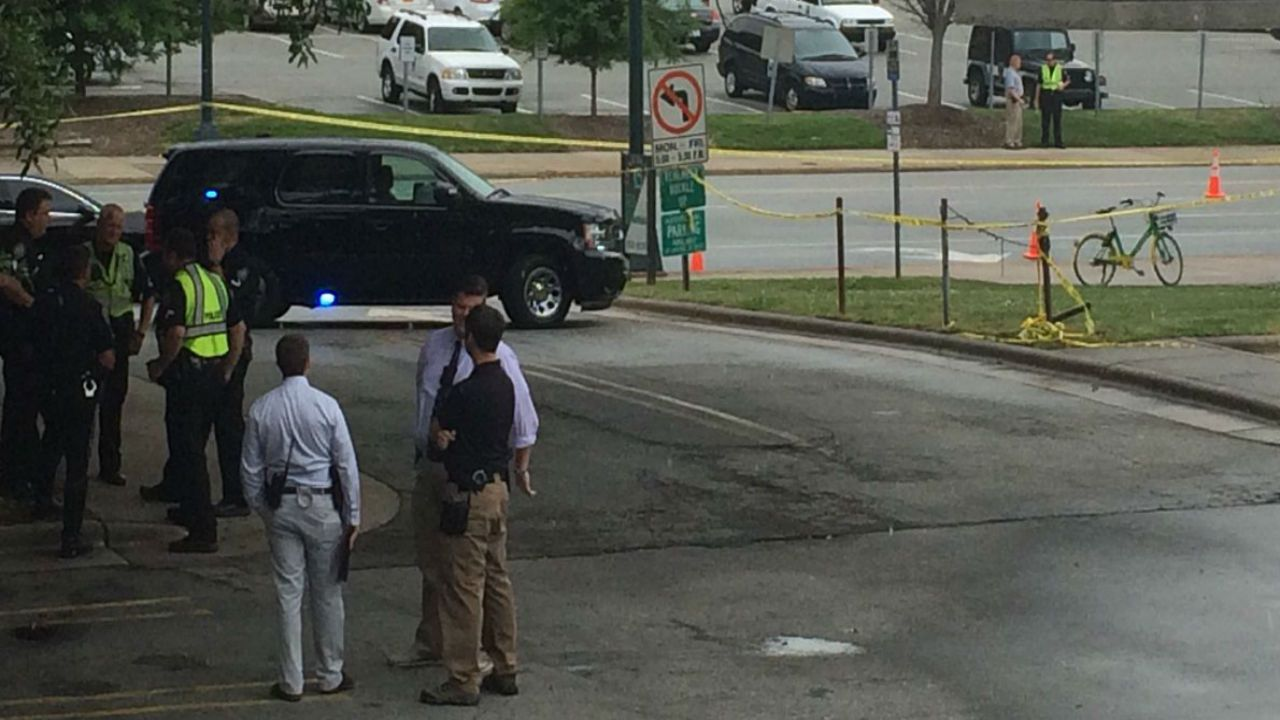 Guilford Co Courthouse locked down after shots fired in area