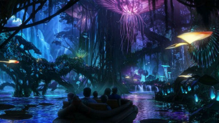 Attendance at Disney World surged more than 15 percent last year, driven by the opening of Pandora-The World of Avatar at Disney's Animal Kingdom. (Courtesy of Disney)