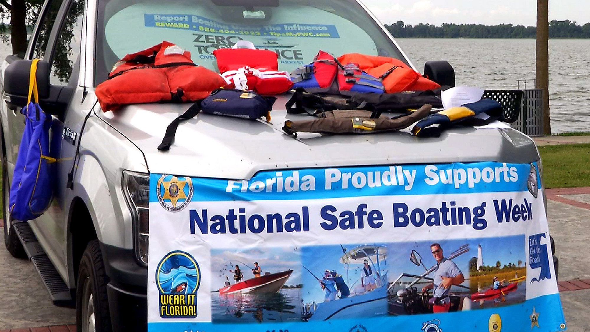FWC tries to enforce safety during 'Safe Boating Week'