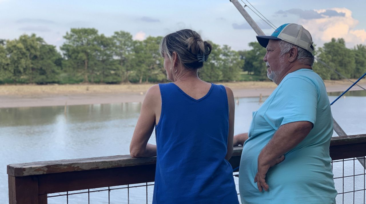 """""""The Lake is Gone"""": Residents React to Dam Failure Affecting Lake Dunlap"""