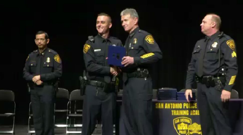 Nearly 40 New San Antonio Police Officers Hit the Streets