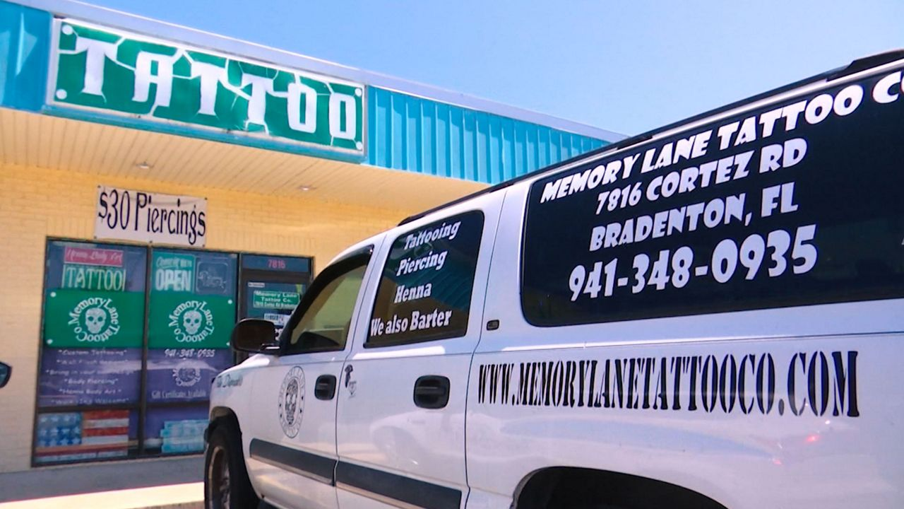 Confusion Continues Over Tattoo Parlors Reopening in Florida