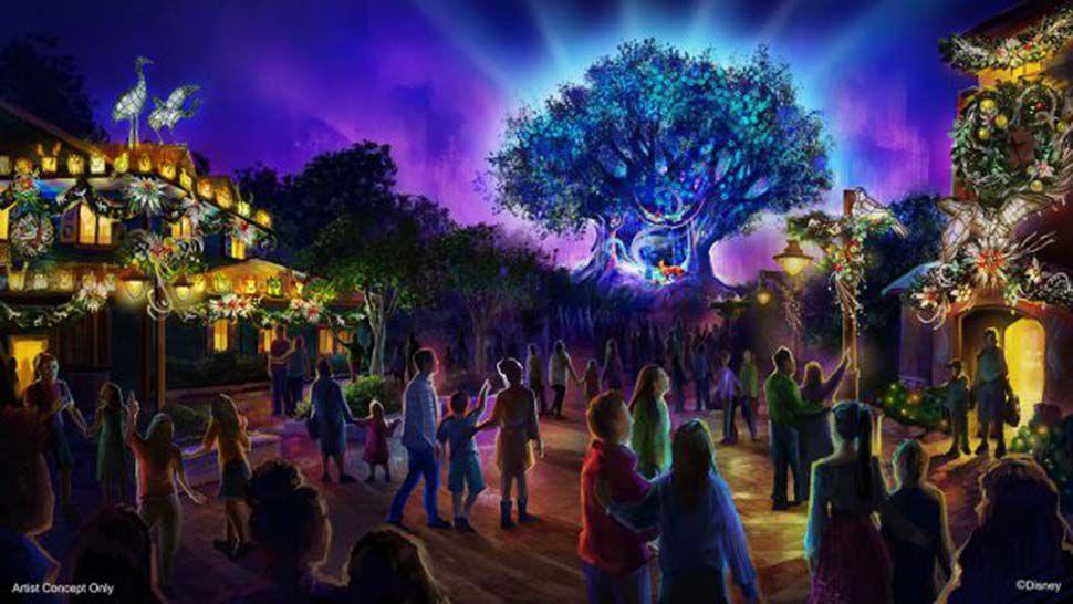New Holiday Decor, Entertainment Coming to Disney's Animal Kingdom