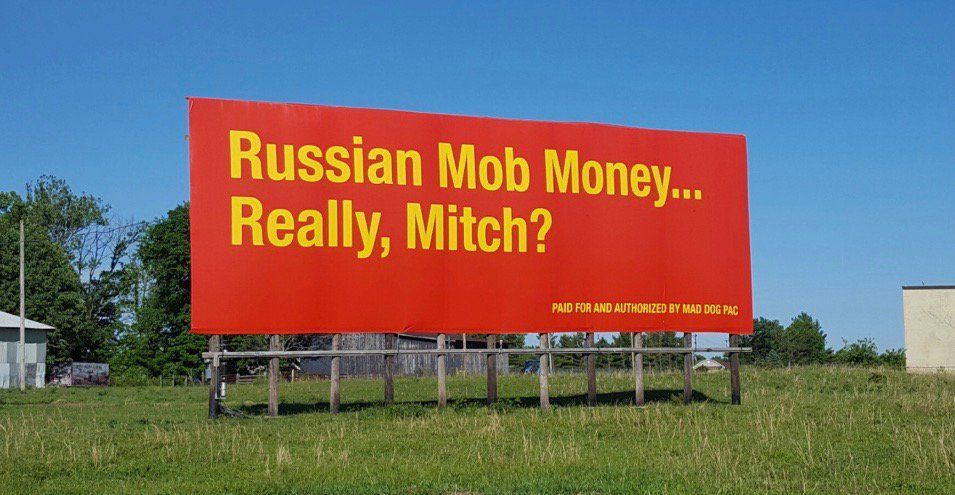 Mad Dog PAC places new billboard targeting McConnell