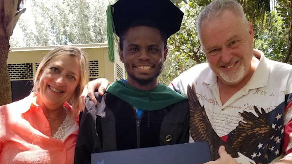 Winter Haven Man Raised in Nigeria Fulfills Medical School Dream