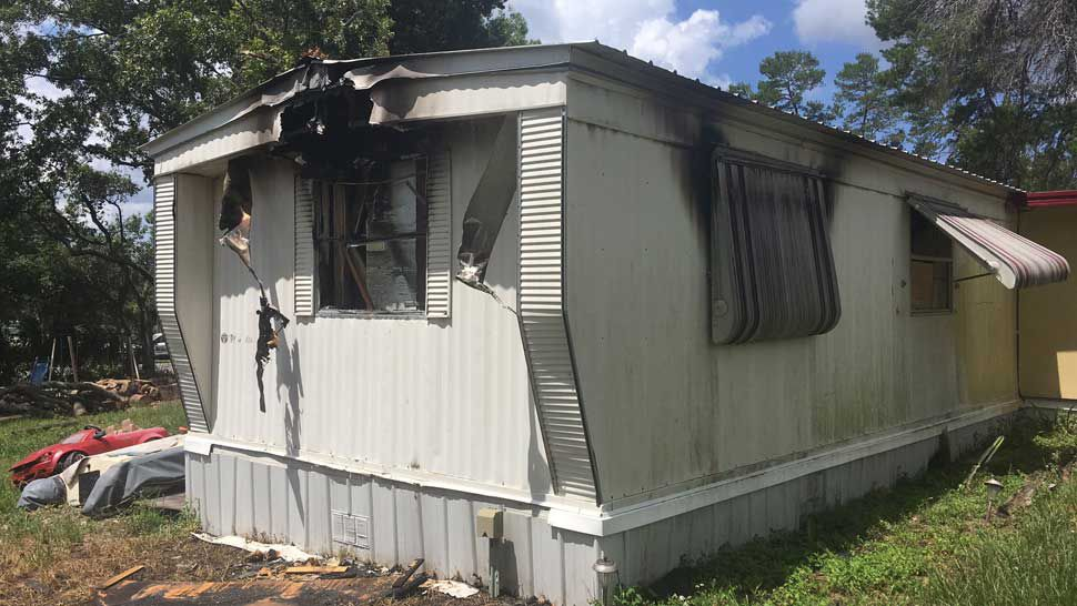 Weeki Wachee Family of 5 Displaced by House Fire