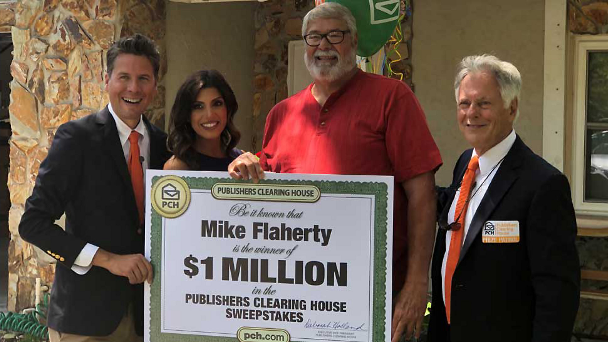 Valrico Man Wins $1 Million from Publishers Clearing House