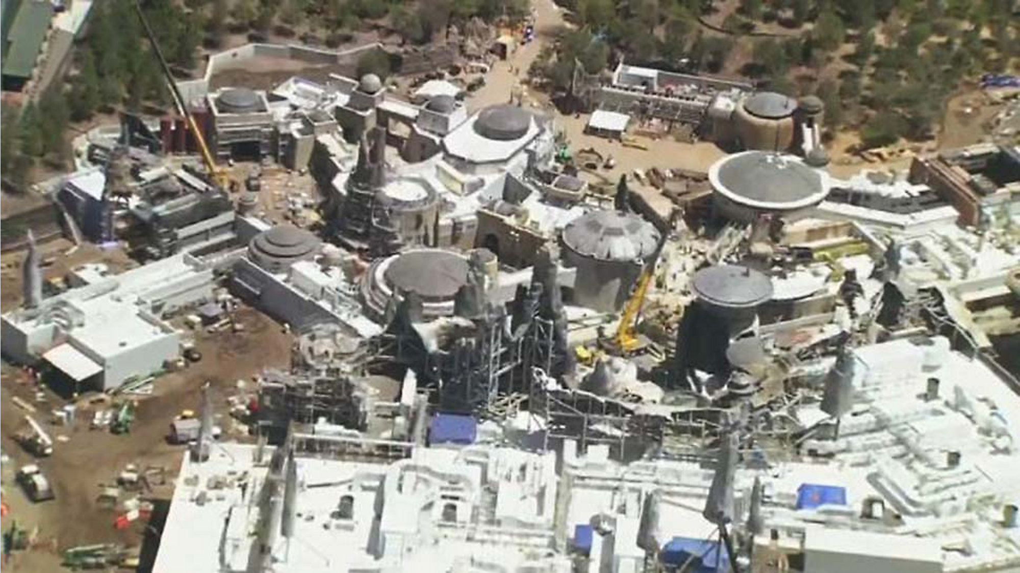 Aerial Images Show Disney World\'s Star Wars Land