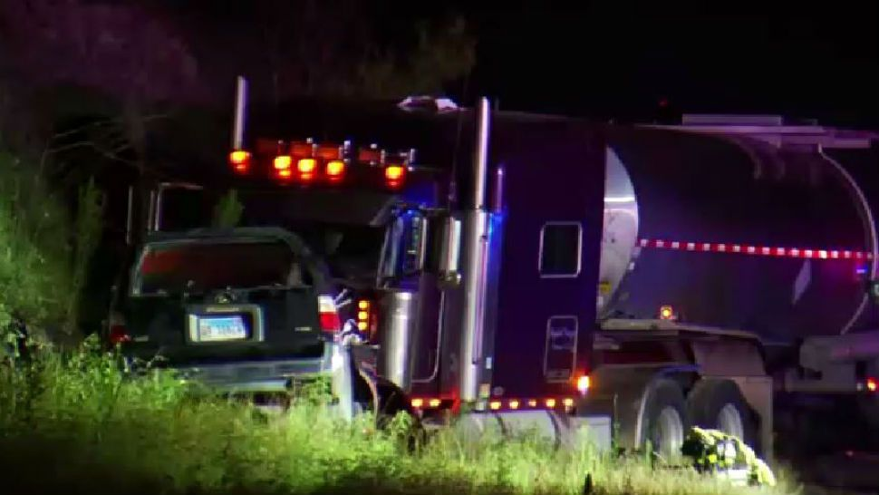 Man Killed in Crash After SUV Crushed by Tractor-Trailer