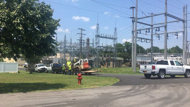 Power Outage Leaves Residents Sweltering Heat