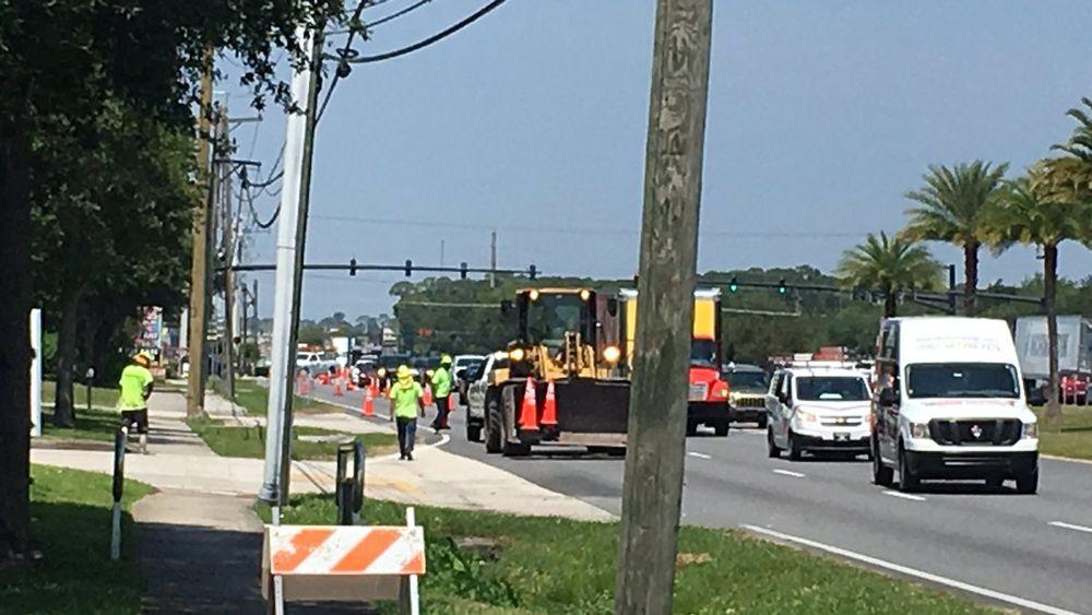FDOT: Company Blocked Sanford Road Lane Without Permission
