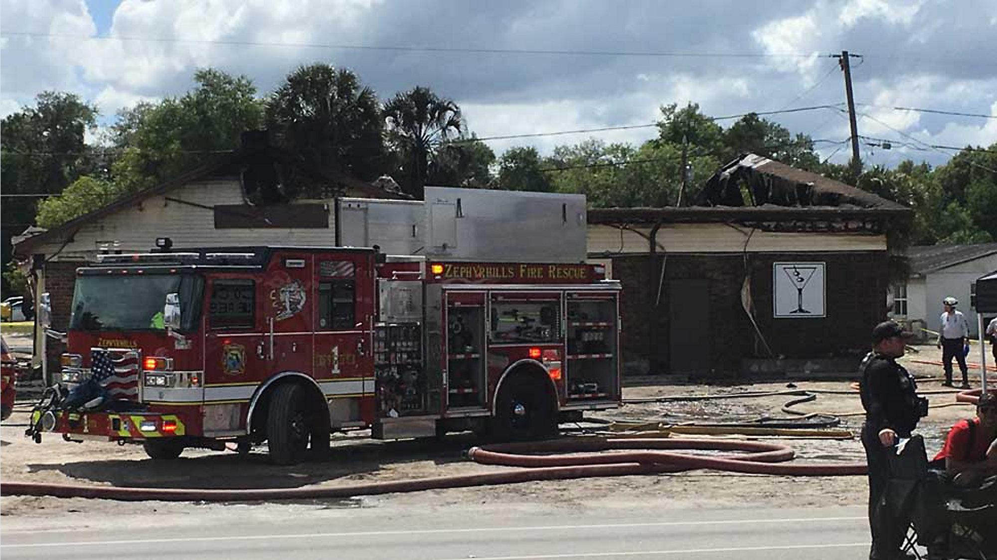 2-Alarm Fire Destroys Zephyrhills Business