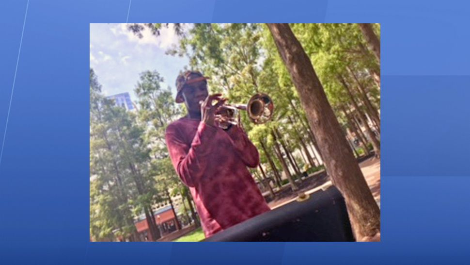 Jacques Ruffin was in middle school in 2009 when he decided to pursue the trumpet. (Spectrum News 13)