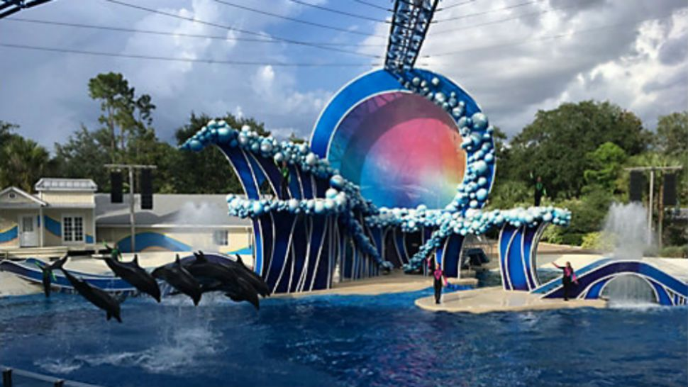 Touch the Sky, SeaWorld Orlando's new show.