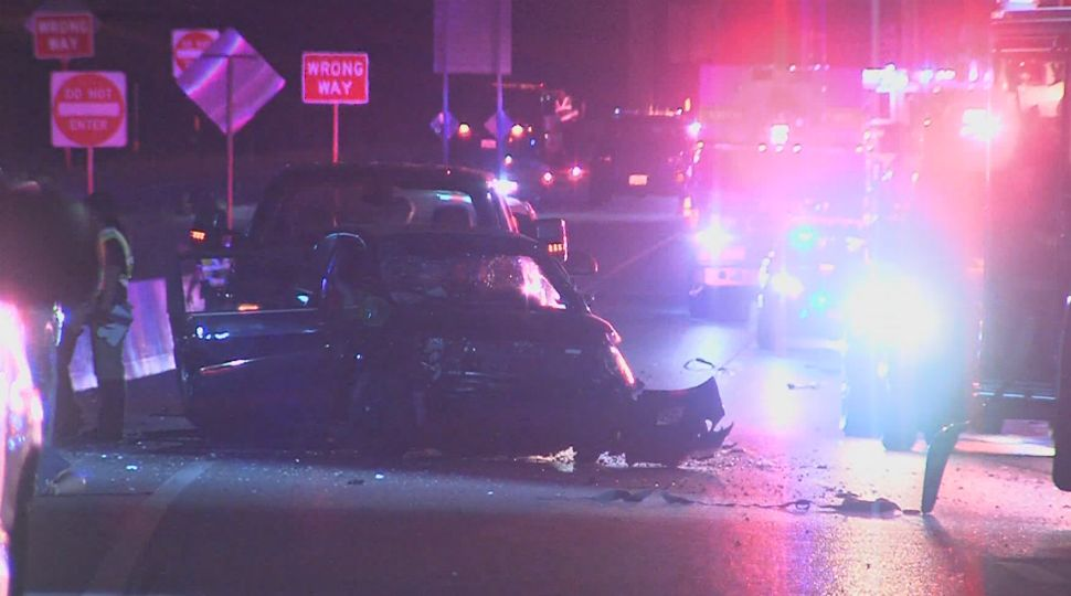 Woman Dead, 2 Officers Injured in North Side Crash