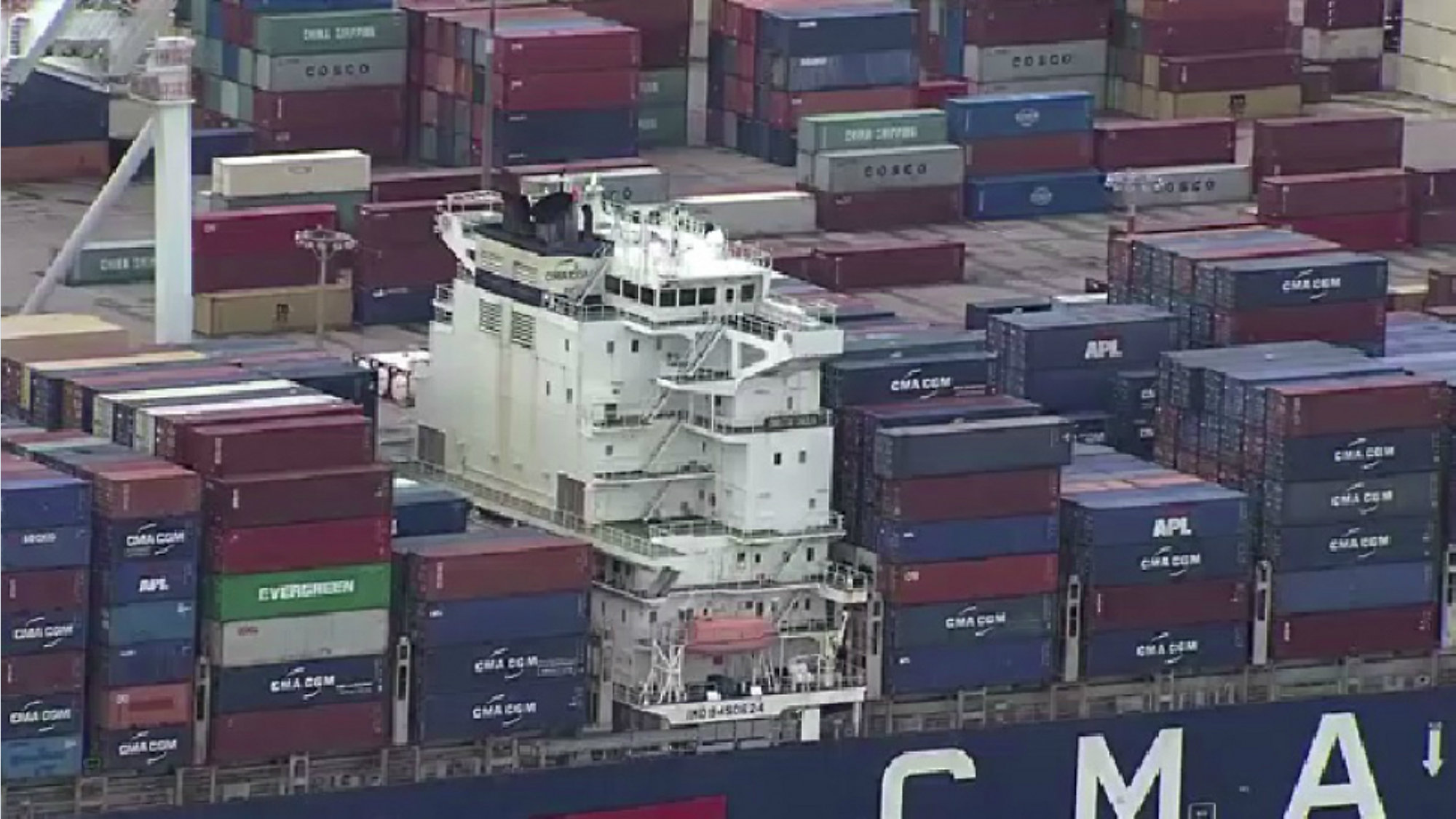 8,000 Containers: Port Welcomes Largest Container Ship