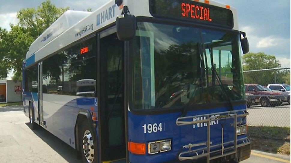 Safety Shields Being Installed on All HART Buses, Vans