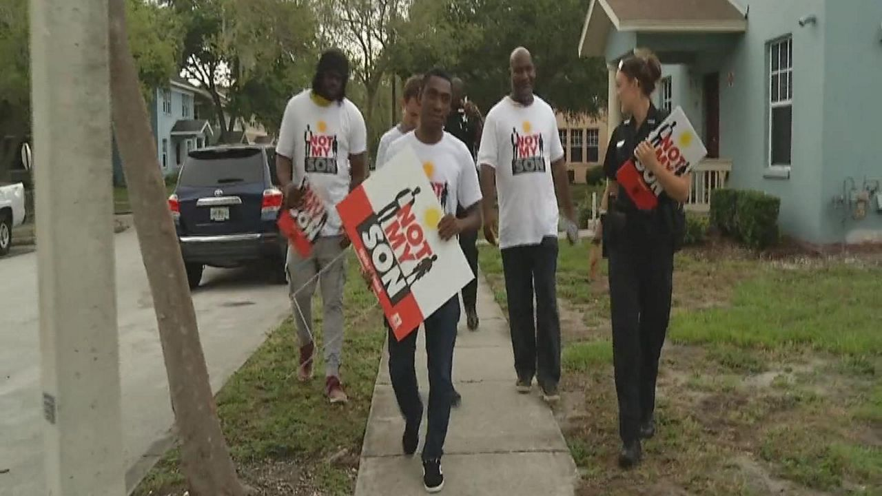'Not My Son' Initiative Hitting the Streets of St. Pete this Summer