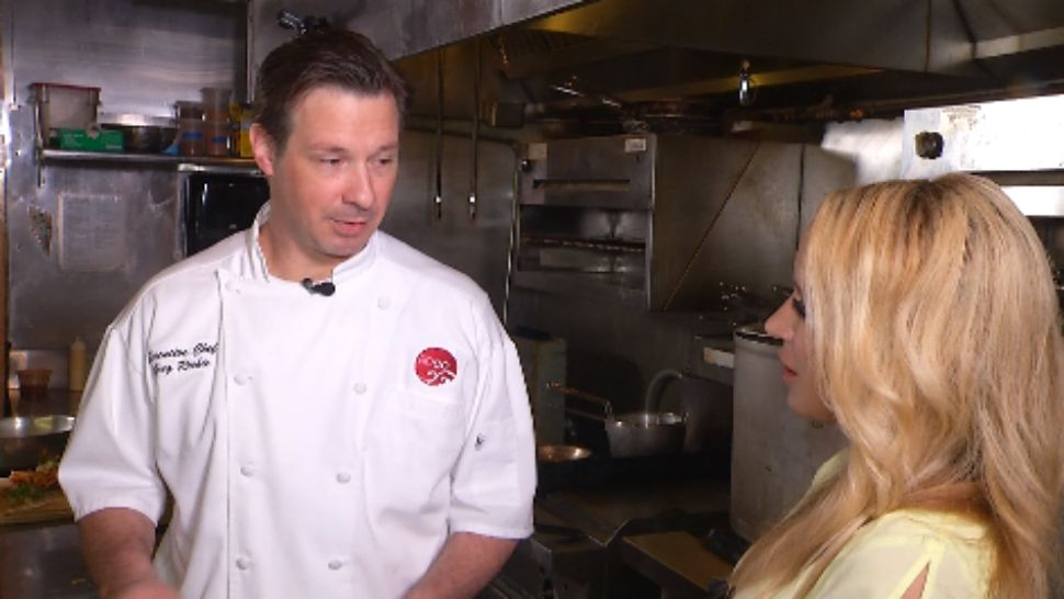 Chef Greg Richie is the executive chef and partner at Soco Thornton Park.