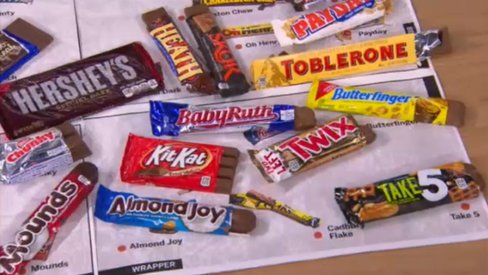 Food Columnist Ranks the Best Candy Bars