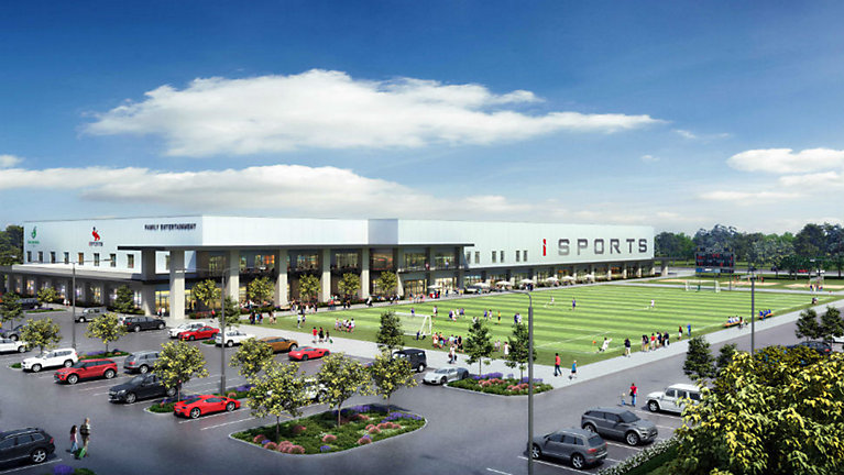 iSports indoor complex is planned for Cedar Park this fall. (Courtesy: iSports Real Estate Development LLC)