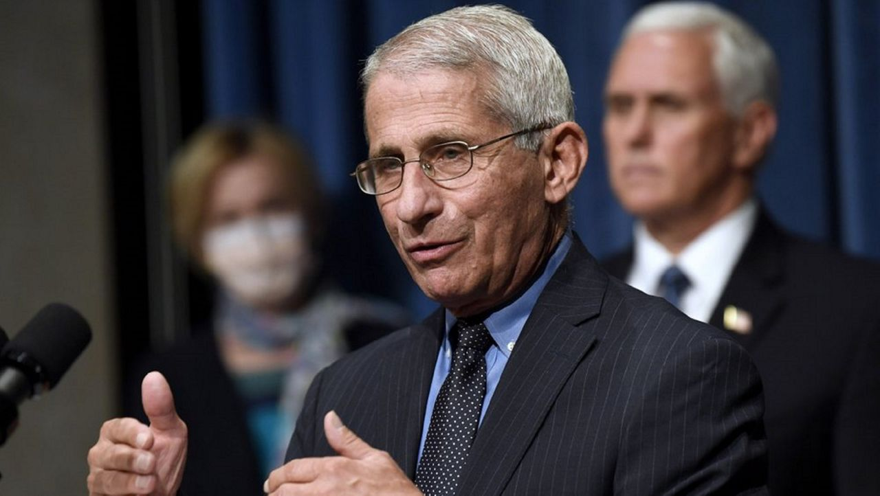 Anthony Fauci Recommends Against Big Thanksgiving Gatherings