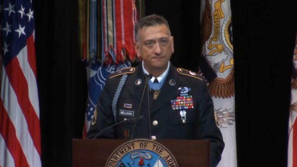 Bellavia Joins Pentagon Hall of Heroes