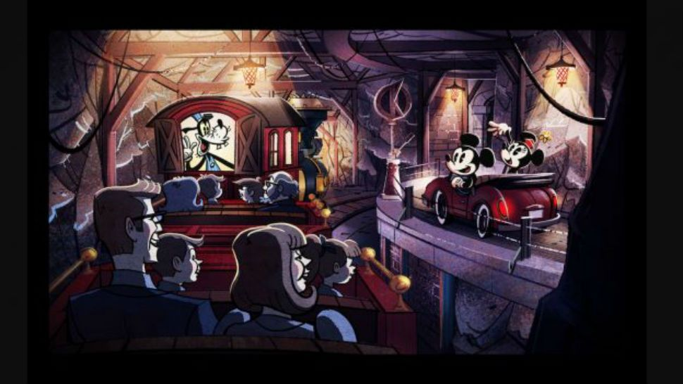Mickey and Minnie's Runaway Railway Won't Open Until 2020