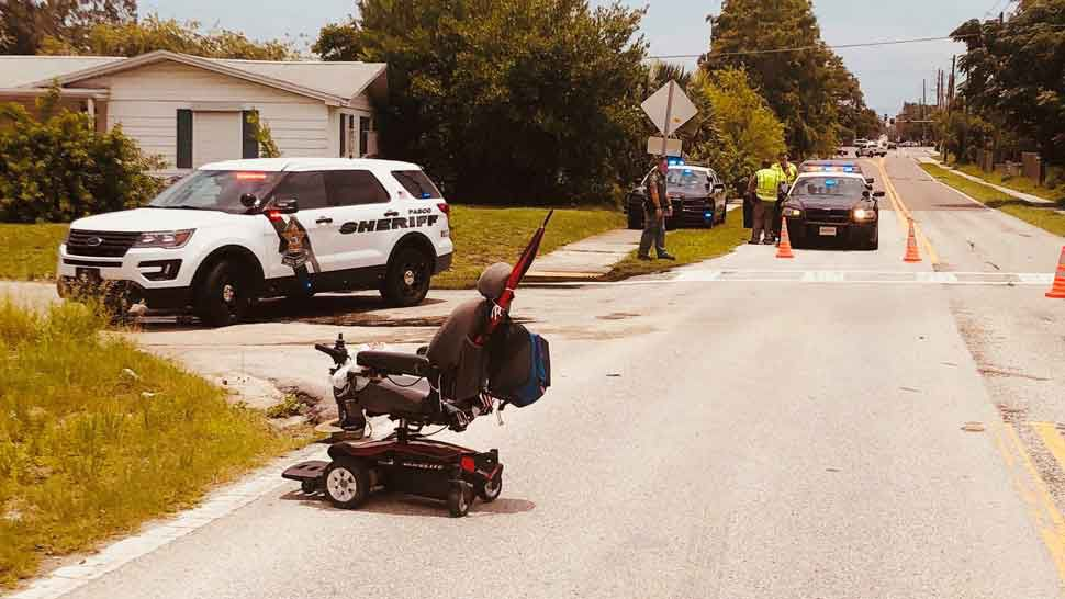 Minivan Involved in Pasco Hit-and-Run Recovered