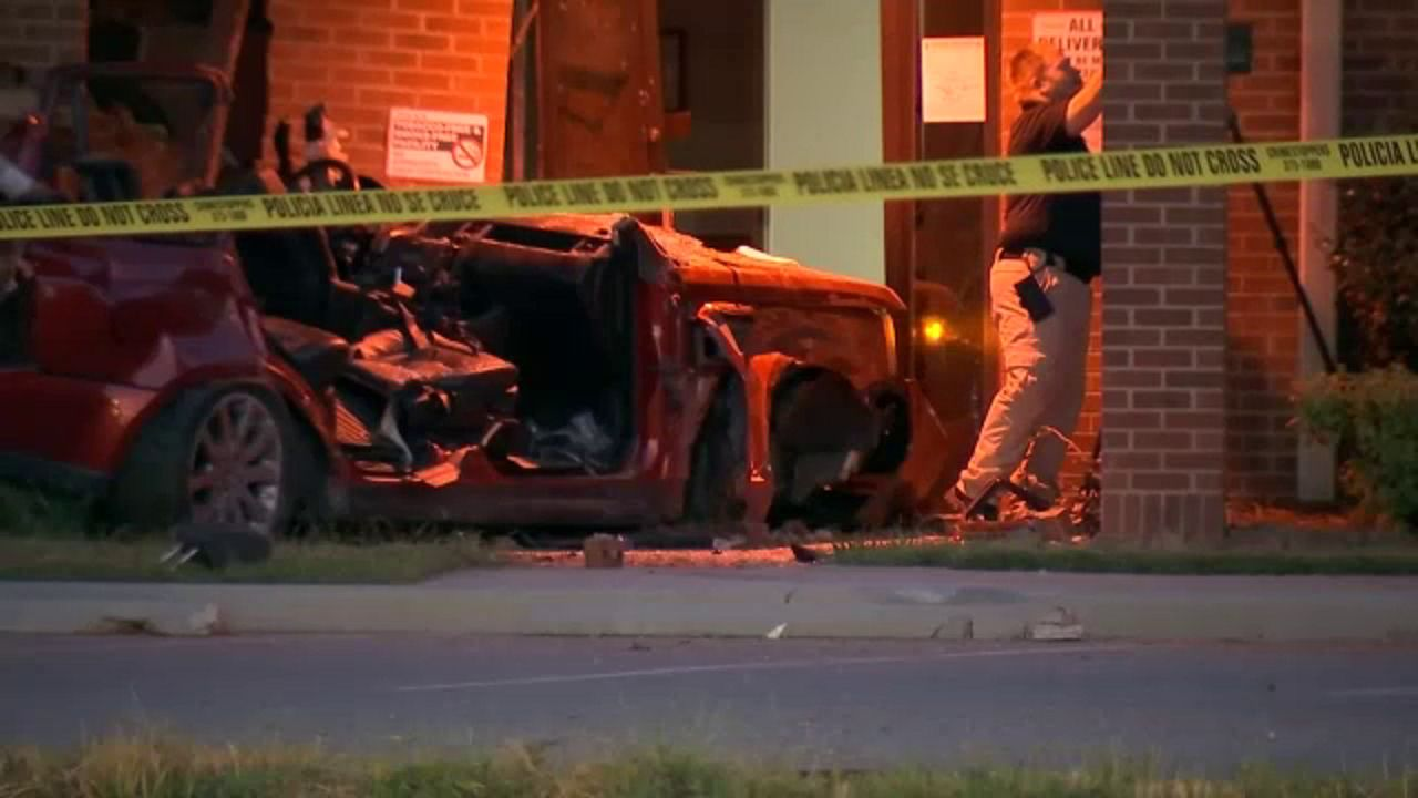 Driver Killed After Car Crashes into Greensboro Building