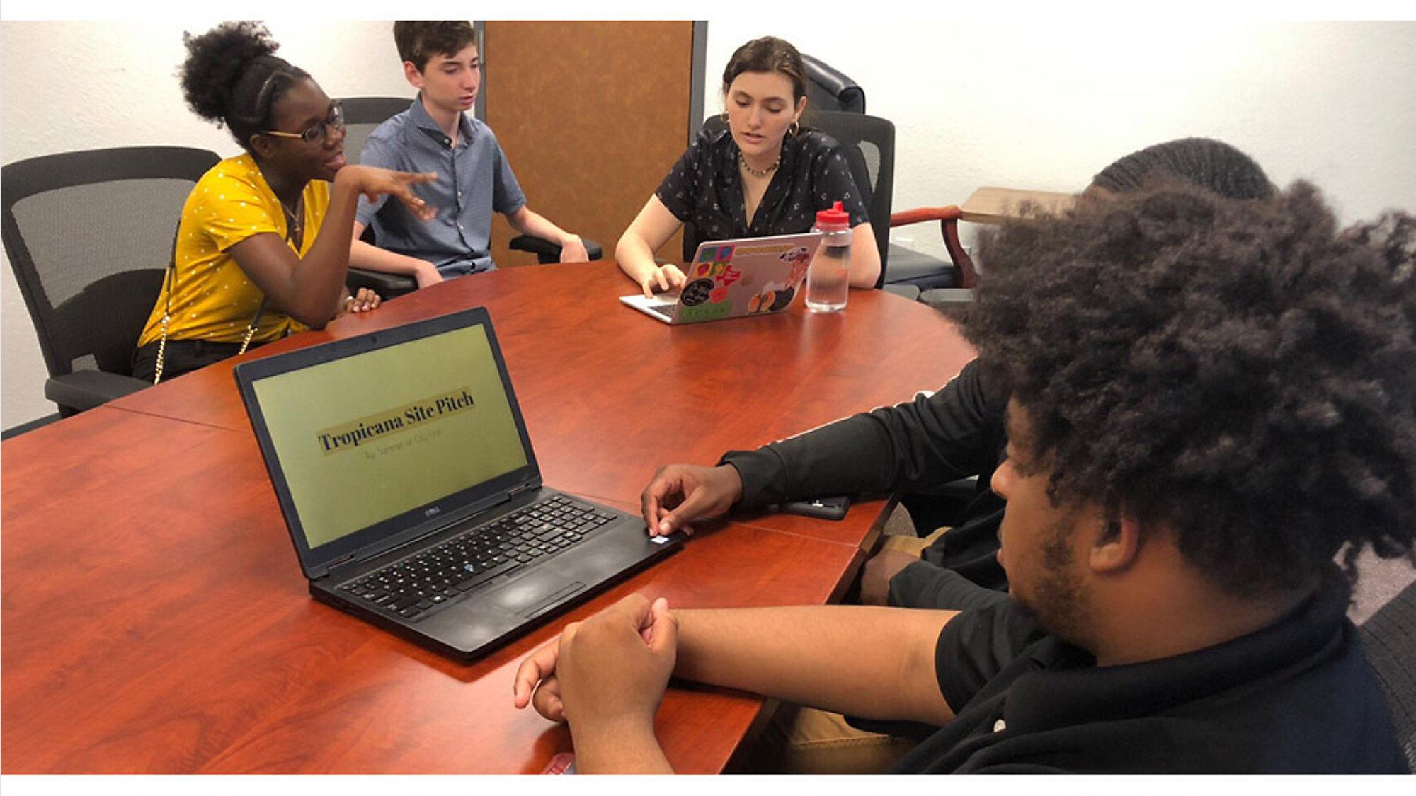 Students Create Plan for Tropicana Field Development