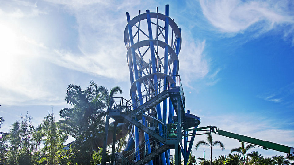 Infinity Falls at SeaWorld Orlando. (Seaworld)
