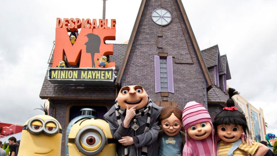 Universal Removes 3d From Despicable Me Minion Mayhem