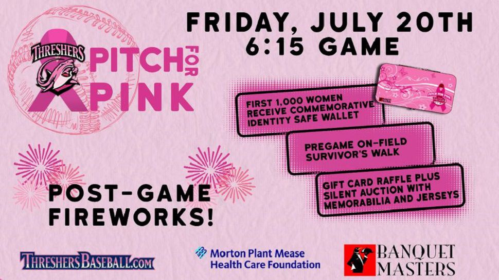Threshers to honor cancer survivors at