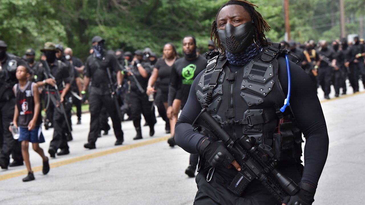 About The Pro-Black Militia Coming To Louisville Saturday