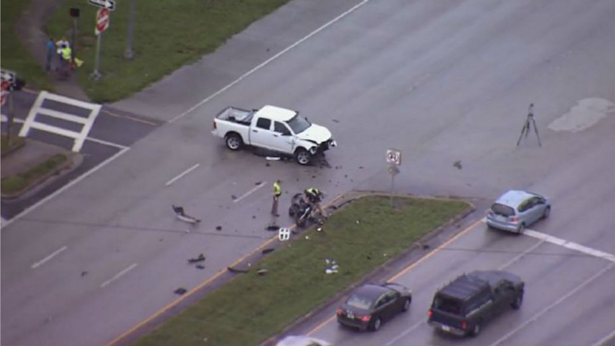 Motorcyclist killed in crash on Colonial Drive, FHP says