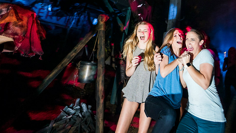 Visitors will be able to search and survive their way through the attraction, with a new twist. (Howl-O-Scream Facebook page)