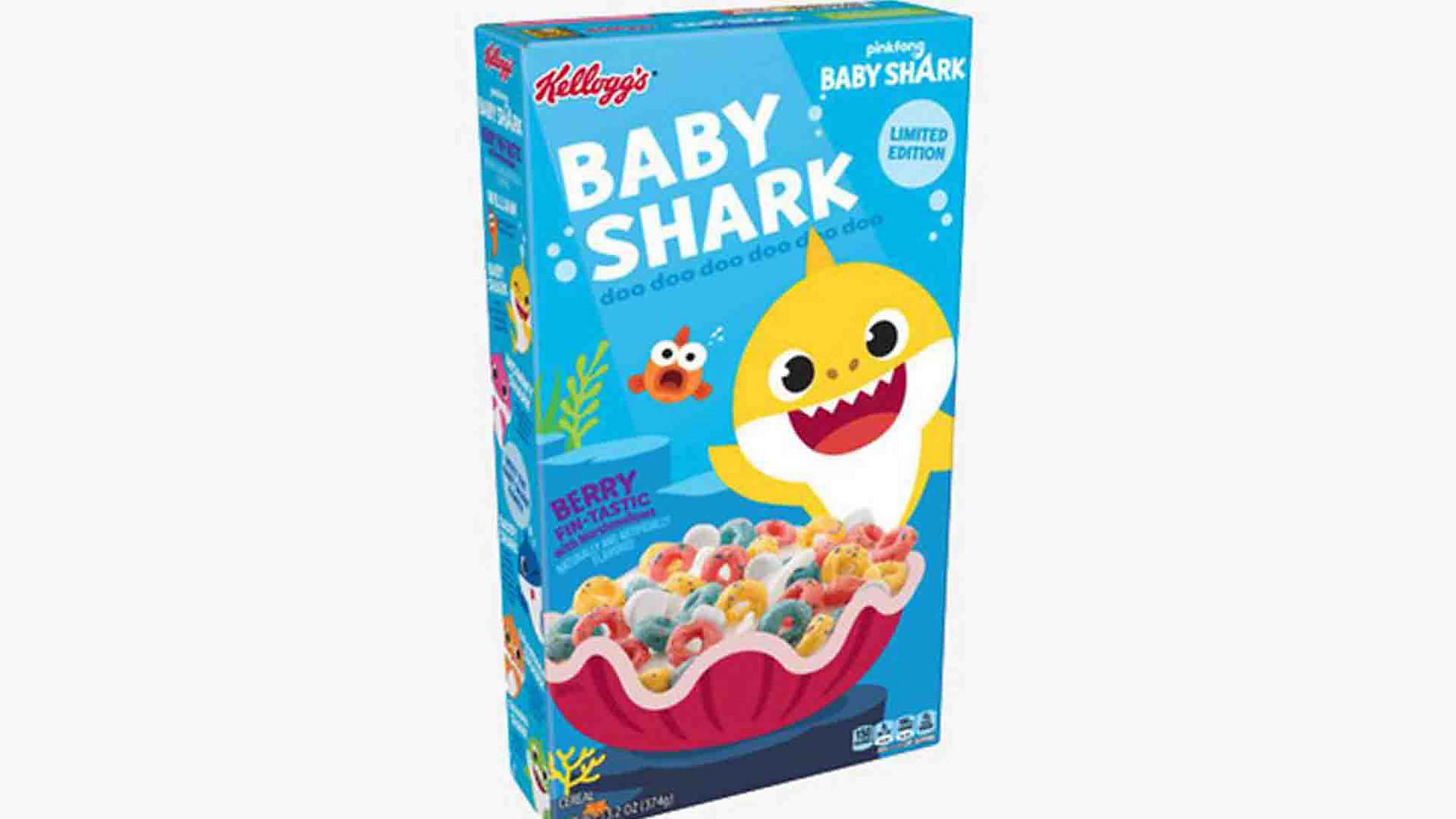 Kellogg's to Release Baby Shark Cereal