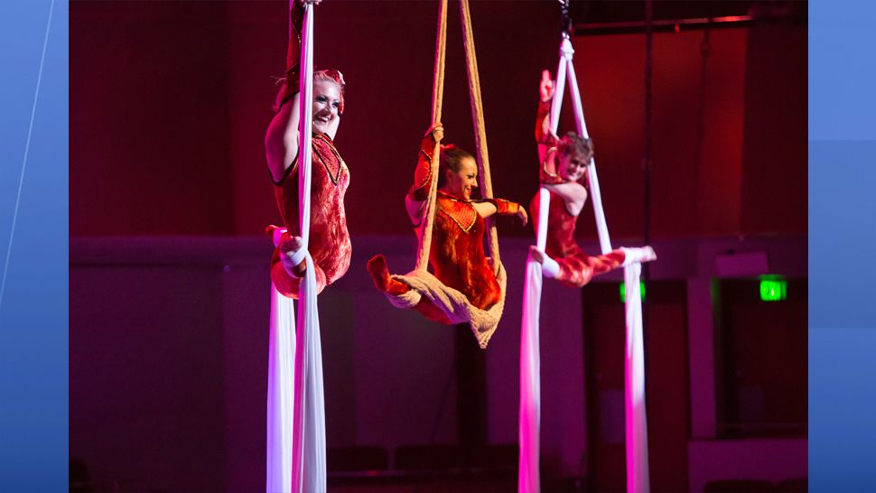 Cirque Musica Holiday is coming to the Yuengling Center in Tampa in December. (Cirque Musica Holiday)