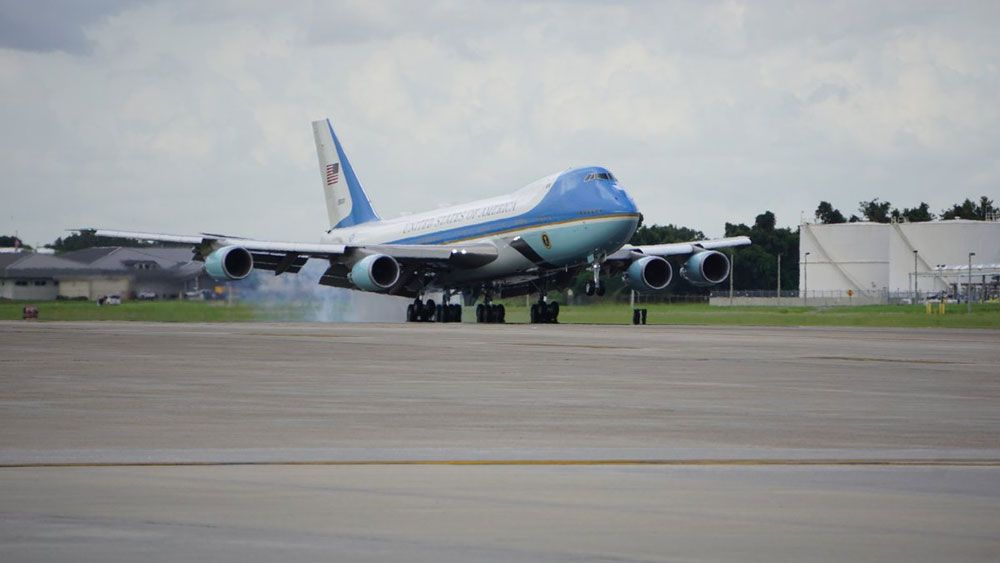 President Donald Trump in Tampa