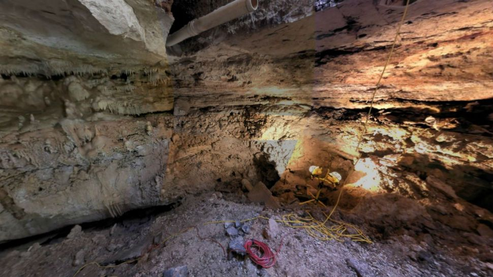3-D map gives inside look at cave below Williamson County D Cave Map on
