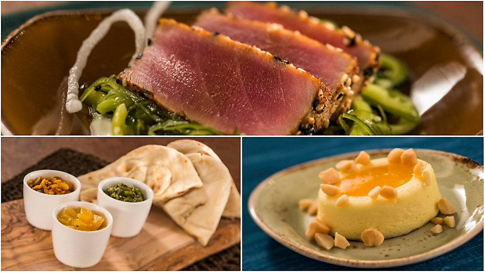 A selection of items that will be available at the Epcot International Food and Wine Festival. (Disney)