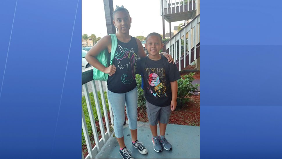 Can anyone guess which one is starting sixth grade and who is starting second grade today? (Elizabeth Tillman, viewer)