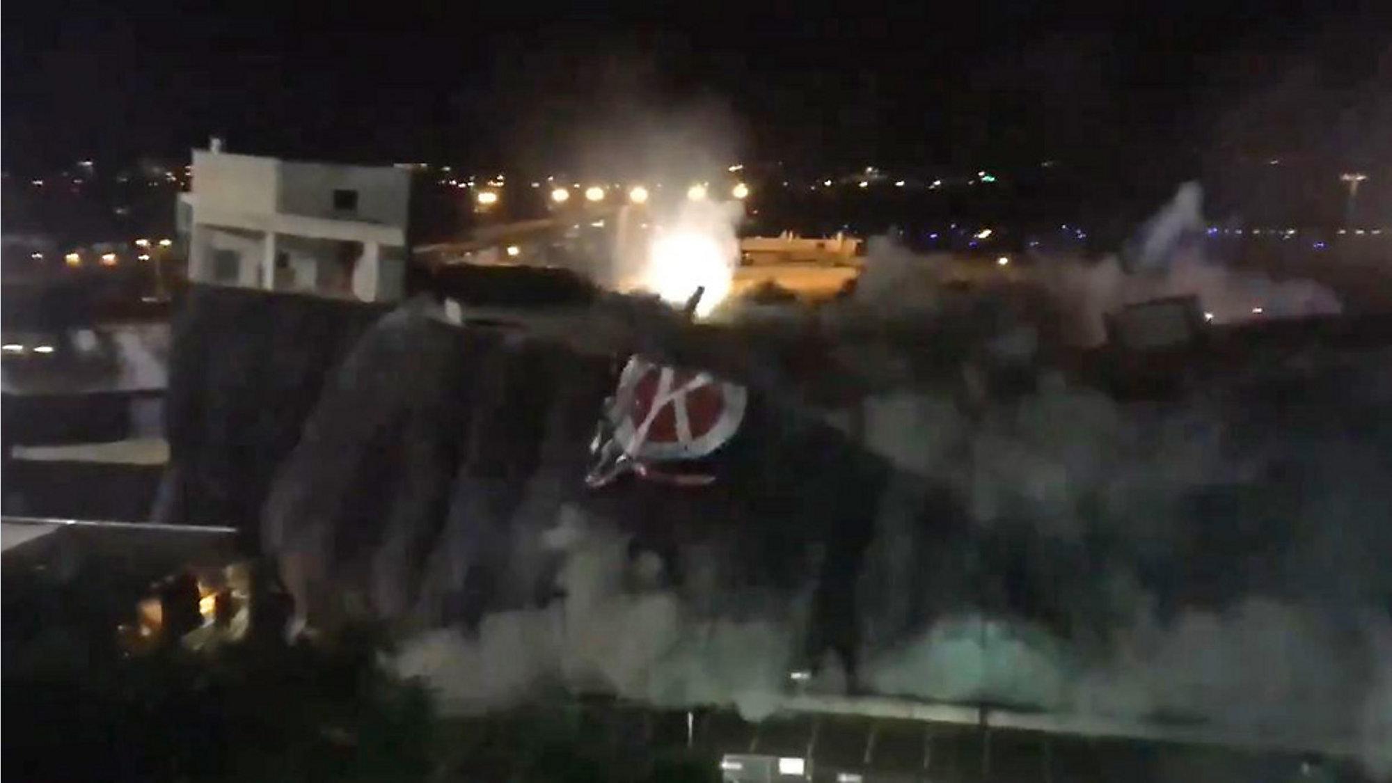 Video Tampa Airport Car Garage Implodes